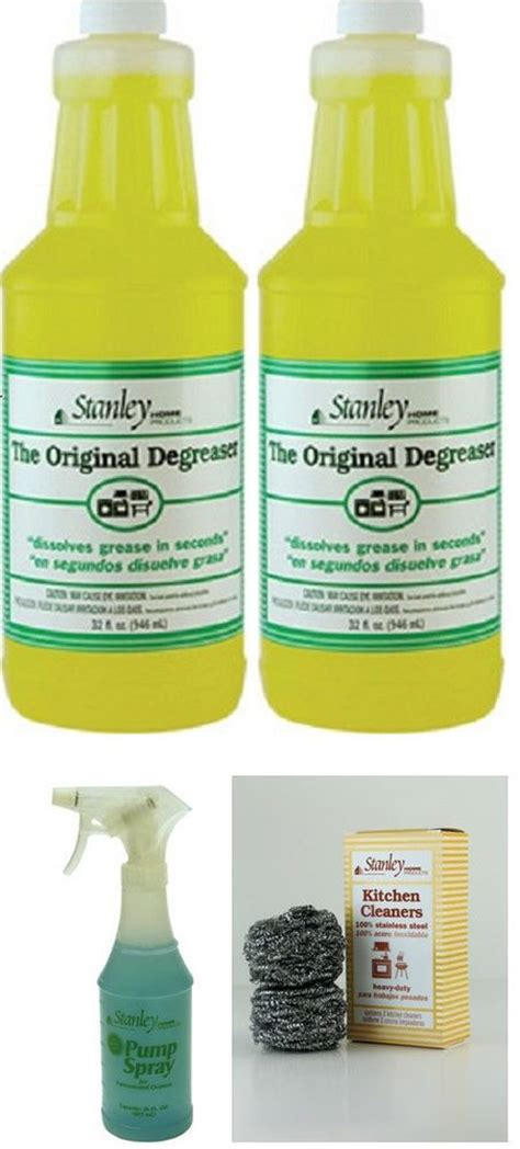 degreaser concentrate special kit stanley home products