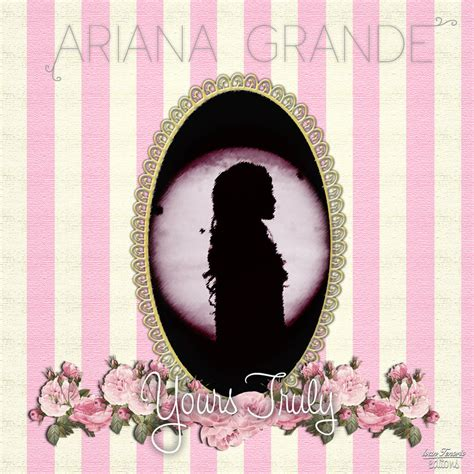Grande Yours Truly Cd grande yours truly fanart by ivantenorio on deviantart