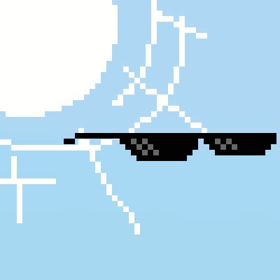 Pixel Sunglasses Meme - deal with it the art and science of creating gifs the verge