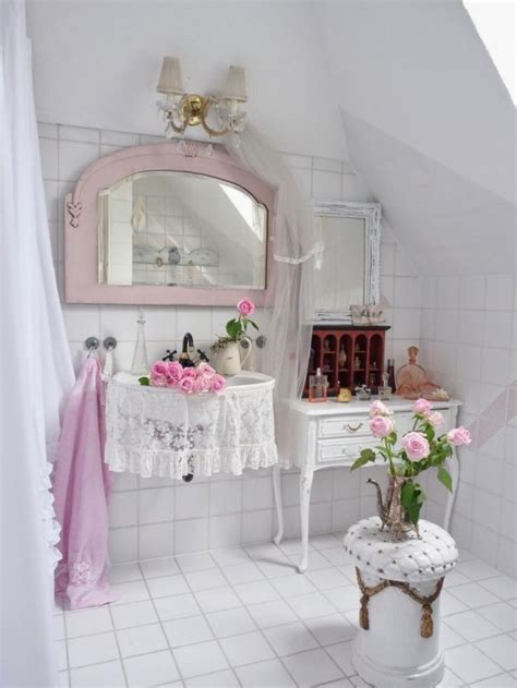 shabby chic bathroom accessories 28 lovely and inspiring shabby chic bathroom d 233 cor ideas