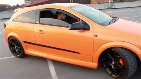 vauxhall orange orange vauxhall astra vxr replica walk around youtube