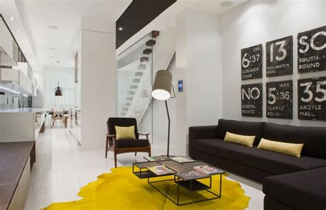 house theme modern house interior in white and black theme trinity