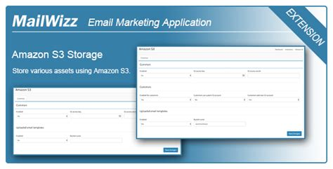 Amazon S3 Integration For Mailwizz Ema Codeholder Net Mailwizz Email Templates