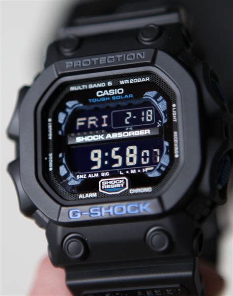 G Shock King Of G gxw56e 1 blue king g shock review mygshock