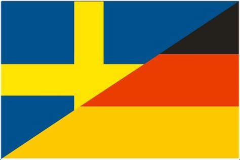 deutschland schweden fahne deutschland schweden freundschaftsflagge 90 x 150 cm