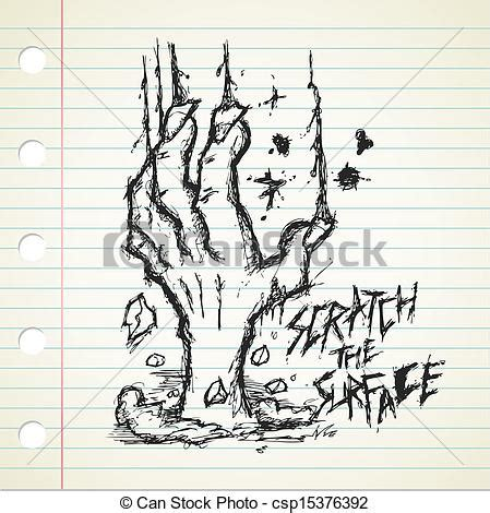 doodle zombies grunge doodle on a paper eps vectors search