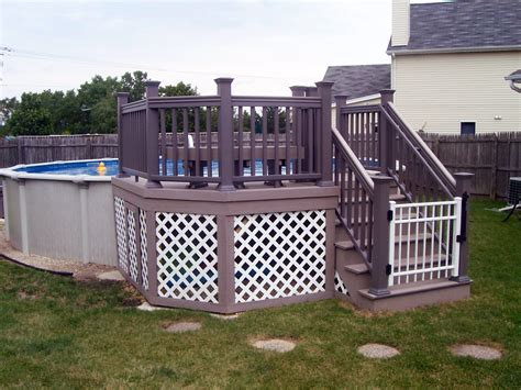 backyard deck cost how much does a chicagoland pool deck cost archadeck