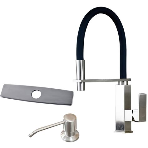 contemporary nickel brushed three holes single handle modern bathroom kitchen single lever kitchen mixer water