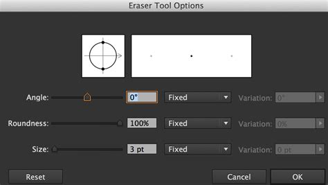 reset eraser tool photoshop how to how to change the shape of the eraser tool in