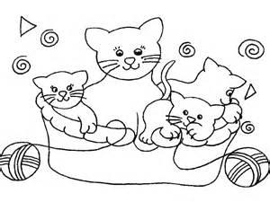 260 dibujos gatos colorear kids 25