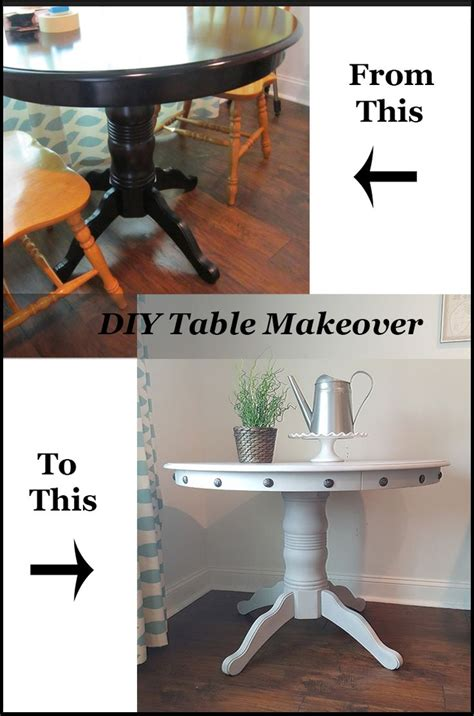 Diy Dining Room Table Makeover 1000 Ideas About Nailhead Trim On Arm Chairs Joss And And Chairs