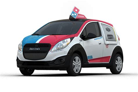 Pizza Auto by Domino S Adds Fleet Of Chevrolet Pizza Delivery Vehicles