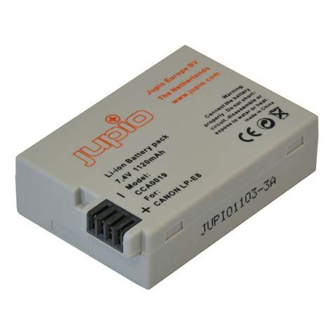 Canon Battery Lp E8 1120mah jupio lp e8 1120mah 7 4v lithium ion battery pack baterija