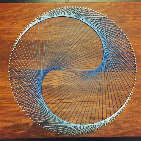 Geometric String Designs - geometric string half inverted cardioid stringkits