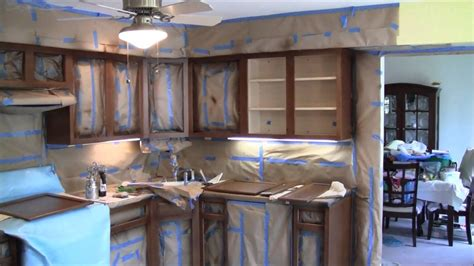 How To Change Kitchen Cabinet Color by N Hance Cabinet Color Change Process Review And