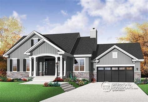 bungalow house plans with basement bungalow house plans with no basement archives new home plans design