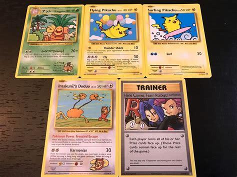 secret cards evolutions complete 5 card secret set