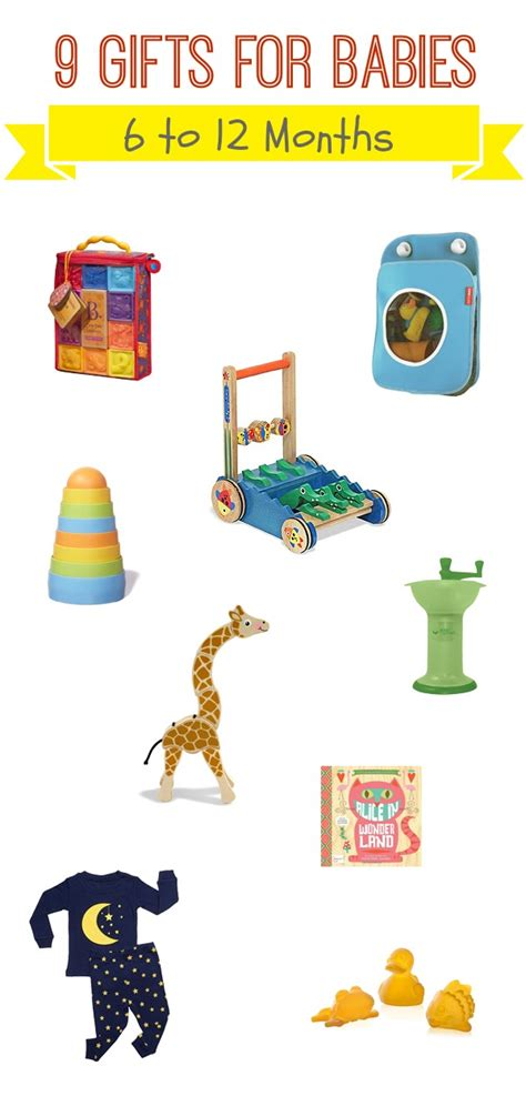 holiday gift guide 9 gifts for babies 6 to 12 months