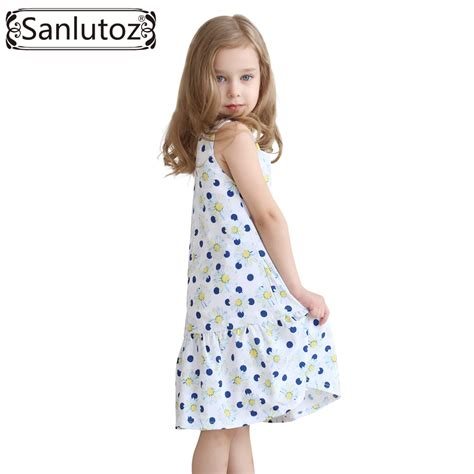 aliexpress girl clothes aliexpress com buy sanlutoz girls dress flower kids