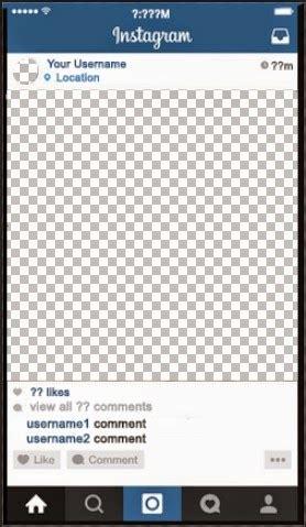 Fake Instagram Template Shatterlion Info Instagram Post Planner Template