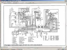 mercury outboard key switch wiring diagram tachometer mercury wiring diagram