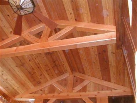 douglas fir timber frame floor timber frame house floor douglas fir timber frame trusses in a small cabin http