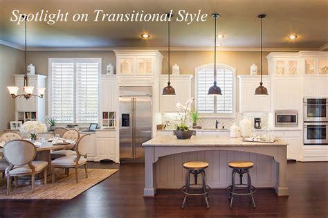 Spotlight on Transitional Style   Around the House Around