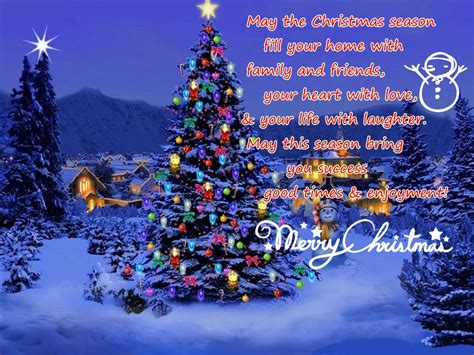 lovely christmas messages  ur loved  godfather style