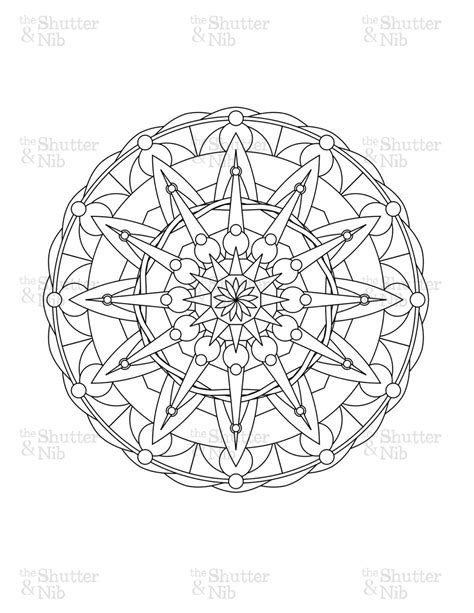 advanced mandala coloring pages printable mandala coloring pages advanced level printable free