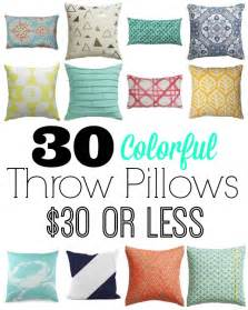 where to buy affordable decorative pillows home base