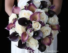 wedding bouquets by color eggplant color wedding bouquet quot yes a thousand times