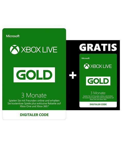 amazon xbox live xbox live gold mitgliedschaft 3 monate 3 monate gratis