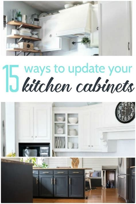 15 amazing ways to redo kitchen cabinets the o jays