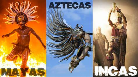 Imagenes Indios Mayas Aztecas E Incas | diferencias entre mayas aztecas e incas riviera maya