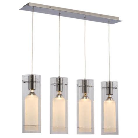 chrome kitchen island filament design negron 4 light chrome incandescent ceiling