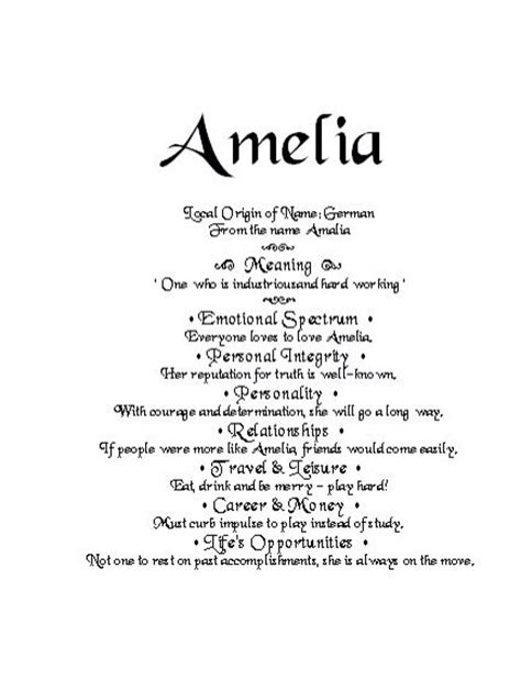 character themes meaning best 25 amelia meaning ideas on pinterest character