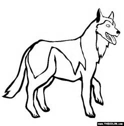coloring pages of husky dogs siberian husky coloring page free siberian husky