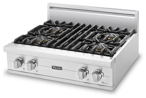 Propane Cooktop Viking 30 Quot Pro Style Gas Rangetop Stainless Steel Liquid