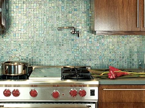 Recycled Glass Backsplashes For Kitchens | how to design an eco friendly kitchen hgtv