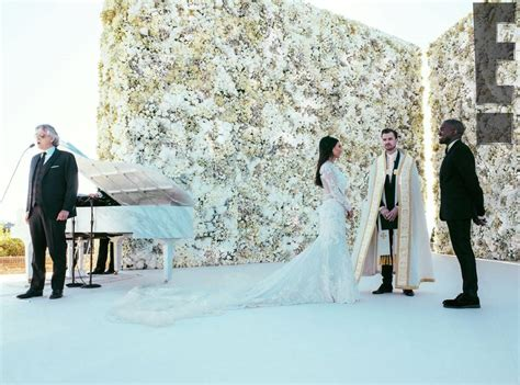 Wedding West by See And Kanye West Serenaded By Andrea