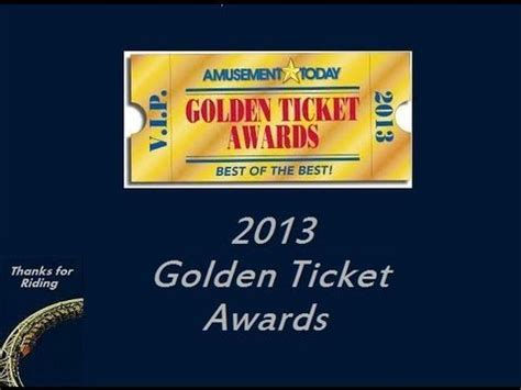The Golden Ticket Andrew Gn Pulls Out The Showstoppers by Thanks For 2013 Golden Ticket Awards