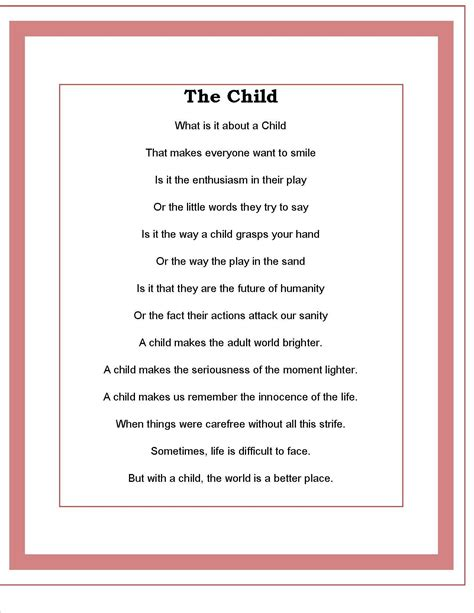 child poem the child poem by todd kaudy children poems poem and
