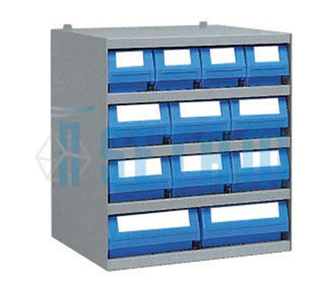 casier rangement atelier avec 12 bacs tiroirs plastique p
