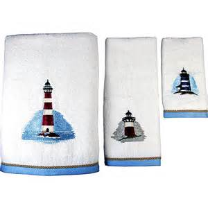 painterly lighthouse 3 towel set bath walmart