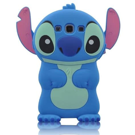 Samsung Galaxy J1 Ace 3d Stitch 4 Soft Silicon coque pour samsung galaxy j7 2016 sm j710fn 3d motif conception de stitch silicone souple bumper