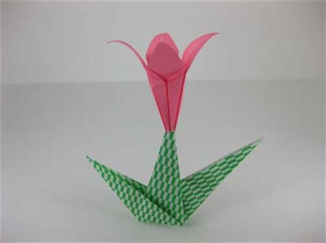 How To Make An Origami Flower Stem - origami flowers driverlayer search engine