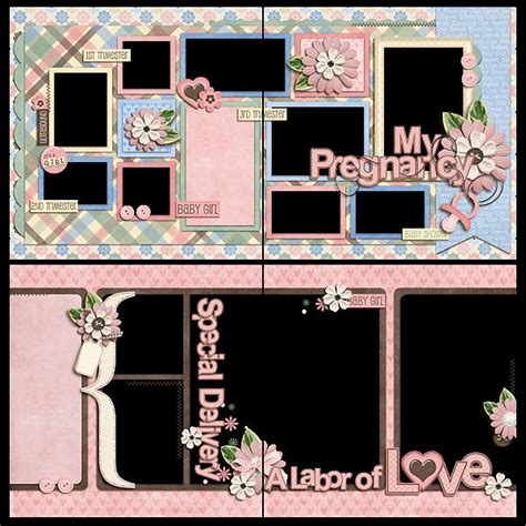 Multi Photo Scrapbook Layouts by 242 Best Images About Baby Layouts On Baby