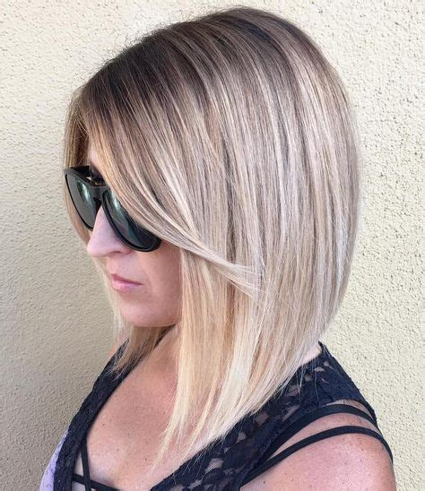 shoulder lengh hair but sides have snapped what hairstyle make it look better 17 best ideas about lob with bangs on pinterest short