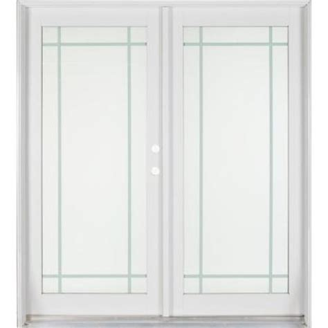 Pre Painted White Interior Doors Ashworth Professional Series 72 In X 80 In White Aluminum Pre Painted White Interior Wood
