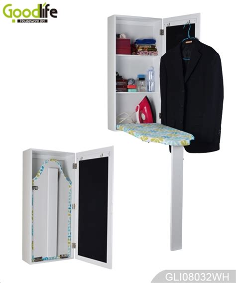 Ironing Board Storage Cabinet Ironing Board Wall Mounted Ironing Board Storage Cabinet With Mirror